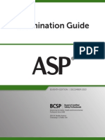 Bcsp ASP Exam Guide
