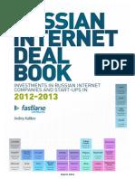 Russian Internet Deal Book 2012-2013