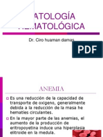 Clases Patologia Hematologica