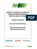 Risk Assessment PDE HS Policies