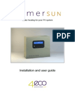 ImmerSUN Installation and User Guide v1.0