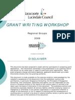 Grant Writing Seminar