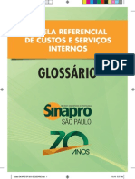Tabela Sinapro Sp 2013 Glossario