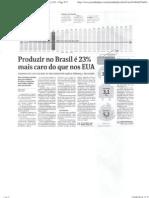 Custo Da Producao Industrial No BR Ago14