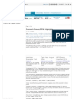 Economic Survey 2014_ Highlights - Page 2 - Economic Times P2