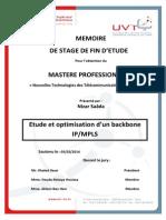 Optimisation Backbone IP MPLS