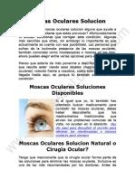 Moscas Oculares Solucion