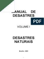 Manual de Desastres Naturais