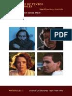 El Análisis de Los Textos Audiovisuales