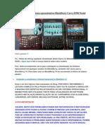 [Dicas] Instalando Sistema Operacional No BlackBerry Curve 8350i Nextel