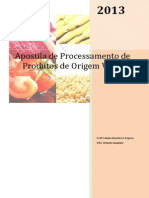 Apostila de Conservação de Alimentos PAOV