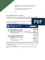 Setting Up a Windows 2003 SP1 Server as a RIS Server
