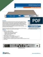 Comtech/EFData CDM-800 Gateway Router