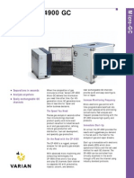 Micro GC Varian 4900_Datasheet