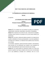 Funciones y Facultades Del Juez Venezolano