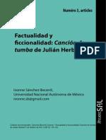 Sanchez - Factualidad y Ficcionalidad - Les Ateliers - PARIS-Sorbonne