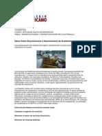 Unidad 3 Importaciones y Exportaciones de Guatemala.