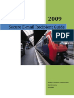Secure Email Recipient Guide v3