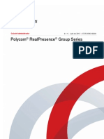 Manual Polycom RealPresence Group 300