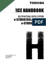 E-studio 455 Service Handbook - Copia