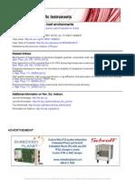 Hot Nanoindentation in Inert Environments