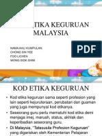 Kod Etika Keguruan Malaysia