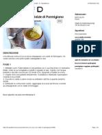 Crema Di Zucca Con Cialde Di Parmigiano - Ricette Pepina68 - D - Repubblica