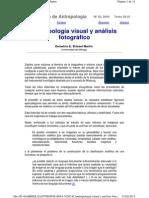 Antropología Visual y Análisis Fotográfico
