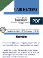 Solar Heaters Final