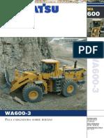 Catalogo Cargador Frontal Ruedas Wa600 3 Komatsu (1)