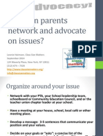 Parent Organizing Toolkit 2014