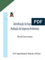 Análise de Impacto Ambiental-SGA