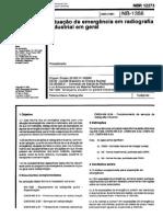 NB 1356 - Emergencia Em Radiografia Industrial