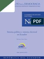 Sistema Poltico y Sistema Electoral en El Ecuador (3)