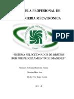 Monografia - Informe Proyecto de Robotica