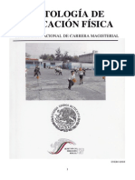 Antologia de La Educacion Fisica (Carrera Magisterial)