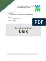 Ideas básicas sobre UNIX