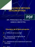 Clasificacion de Metodos Anticonceptivos