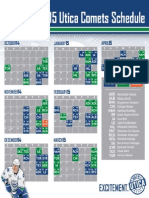 Utica Comets Release 2014-15 Schedule