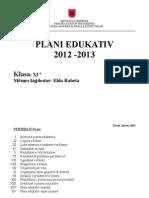 Model Plani Edukativ- Elda
