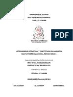 Tesis Heterogeneidad y Competitividad