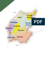 Distritos de Chincha