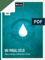 Un Fragil Ciclo Agua Energia y Poblacion en Lima