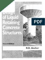 Design of Liquid Retaining Concrete Structures RD Anchor
