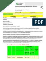 NTP 526 Valores Límite de Exposición Profesional en La Unión Europea