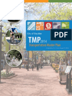 Boulder Transportation Master Plan (TMP) 2014