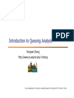 Introduction to Queuing Analysis