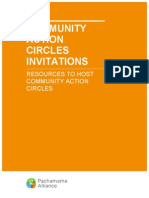 Action Circles Invitations