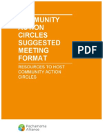 Action Circles Meeting Format