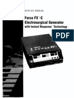Valleylab Force FX-C Service Manual1